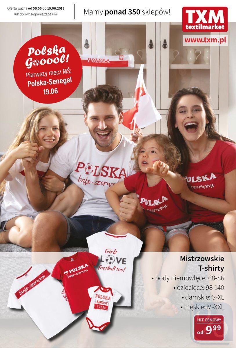 Gazetka promocyjna Textil Market do 19/06/2018 str.0