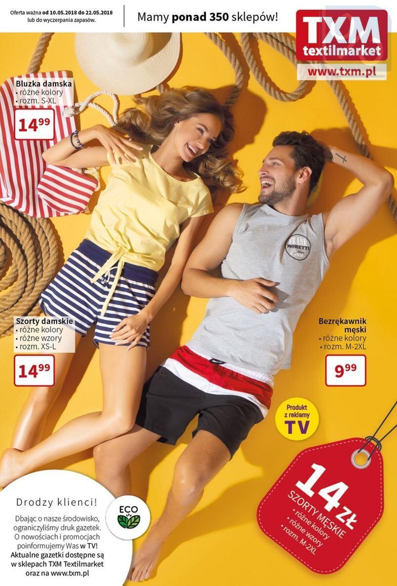 Gazetka promocyjna Textil Market do 22/05/2018 str.0