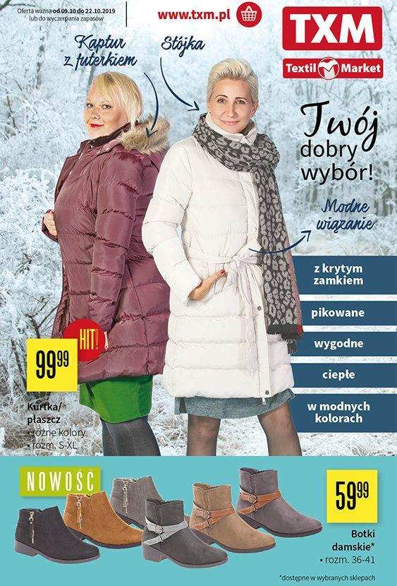 Gazetka promocyjna Textil Market do 22/10/2019 str.1