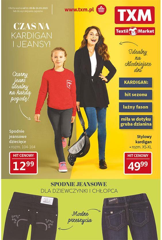 Gazetka promocyjna Textil Market do 24/09/2019 str.1