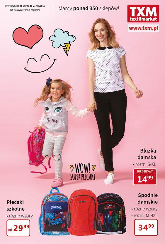 Gazetka promocyjna Textil Market do 21/08/2018 str.0