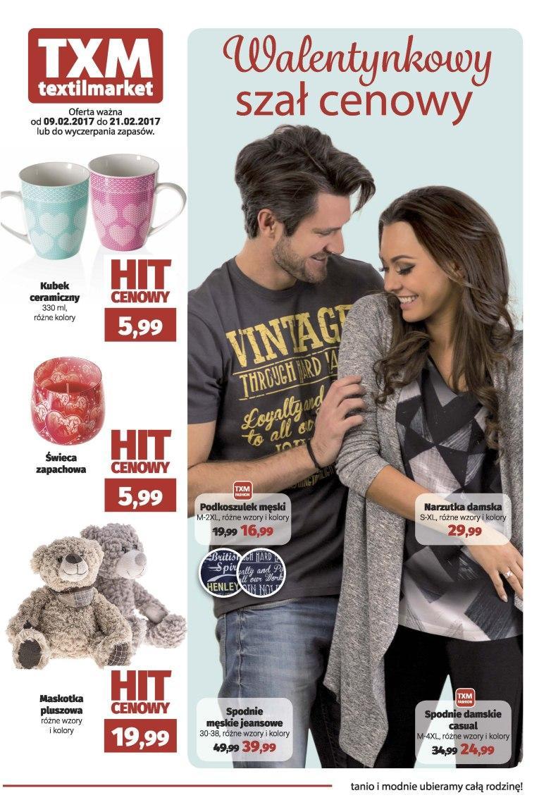 Gazetka promocyjna Textil Market do 21/02/2017 str.0