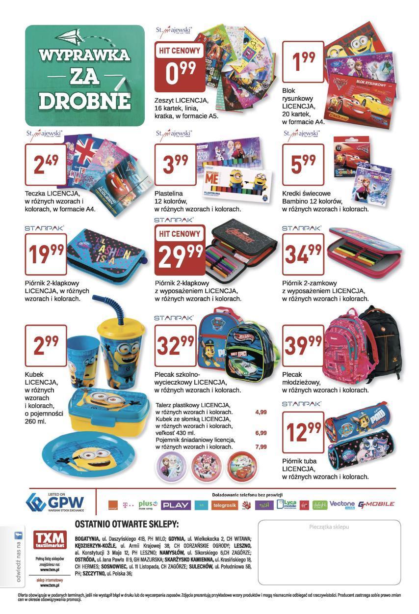 Gazetka promocyjna Textil Market do 22/08/2017 str.3