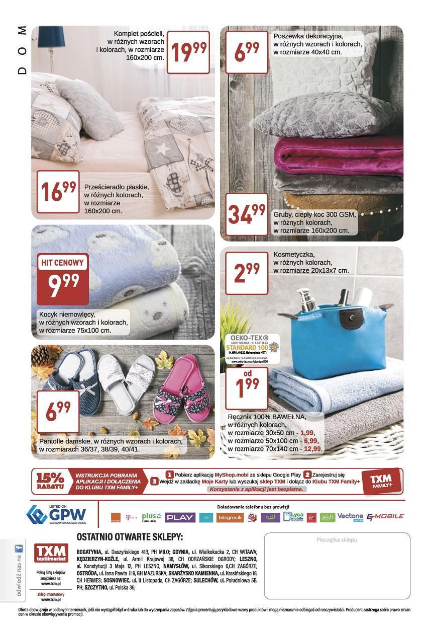 Gazetka promocyjna Textil Market do 17/10/2017 str.3