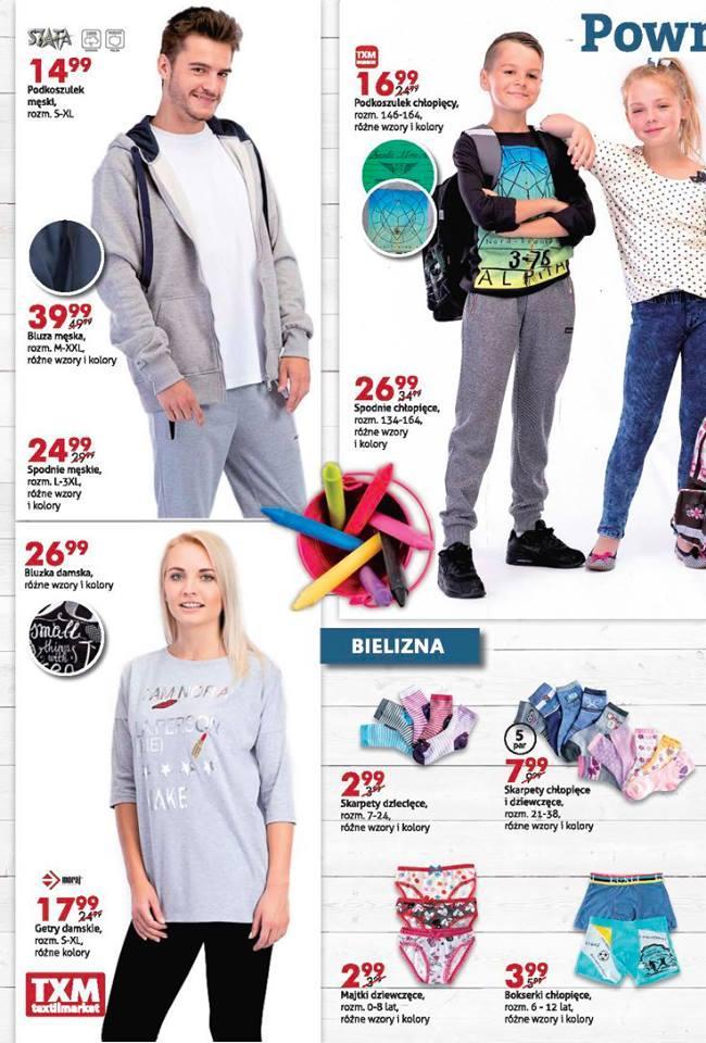 Gazetka promocyjna Textil Market do 30/08/2016 str.1