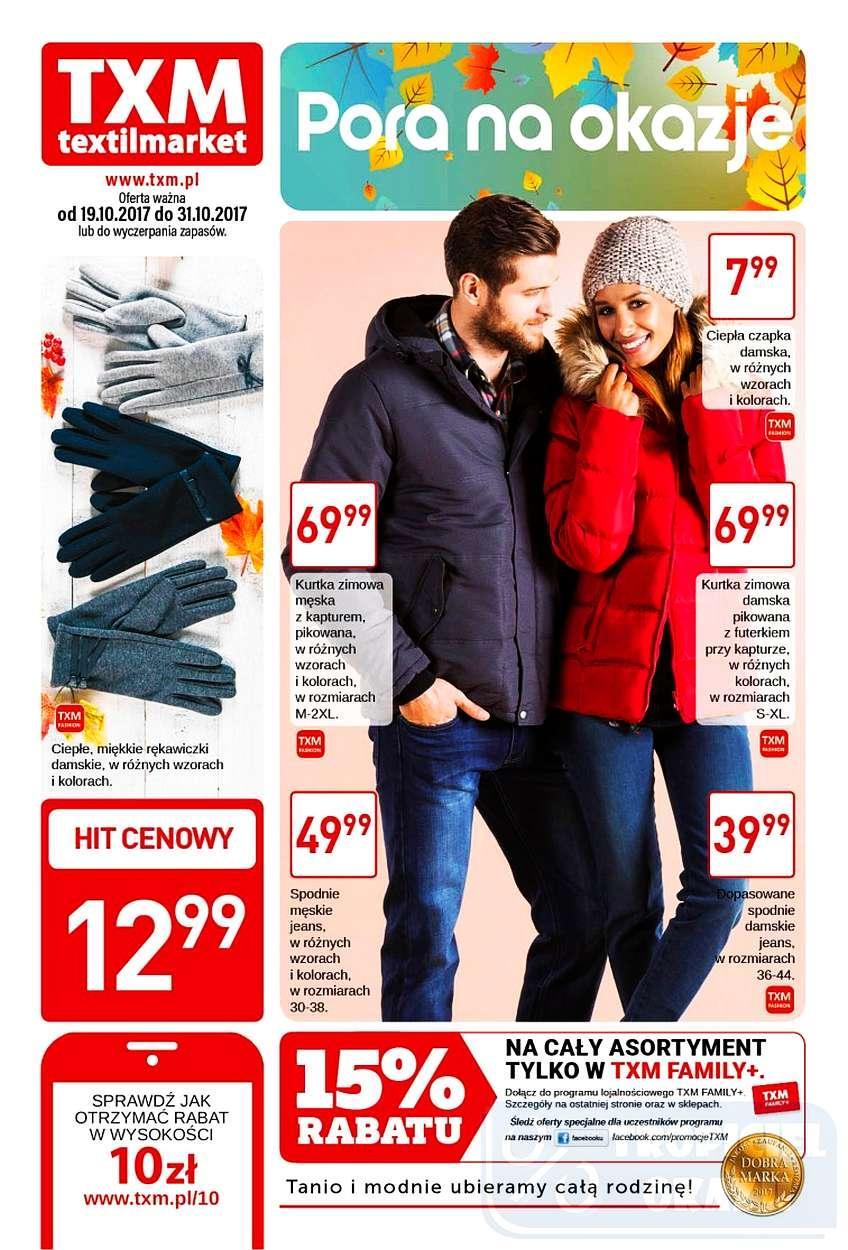 Gazetka promocyjna Textil Market do 31/10/2017 str.0