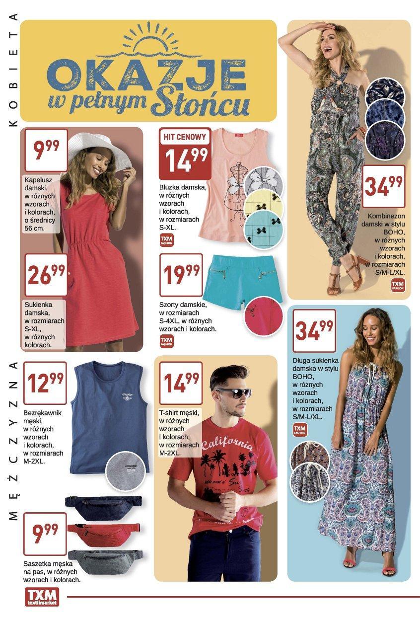 Gazetka promocyjna Textil Market do 13/06/2017 str.1