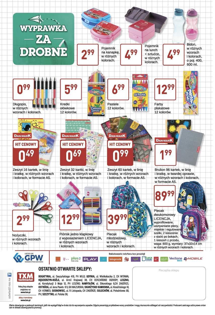 Gazetka promocyjna Textil Market do 05/09/2017 str.3