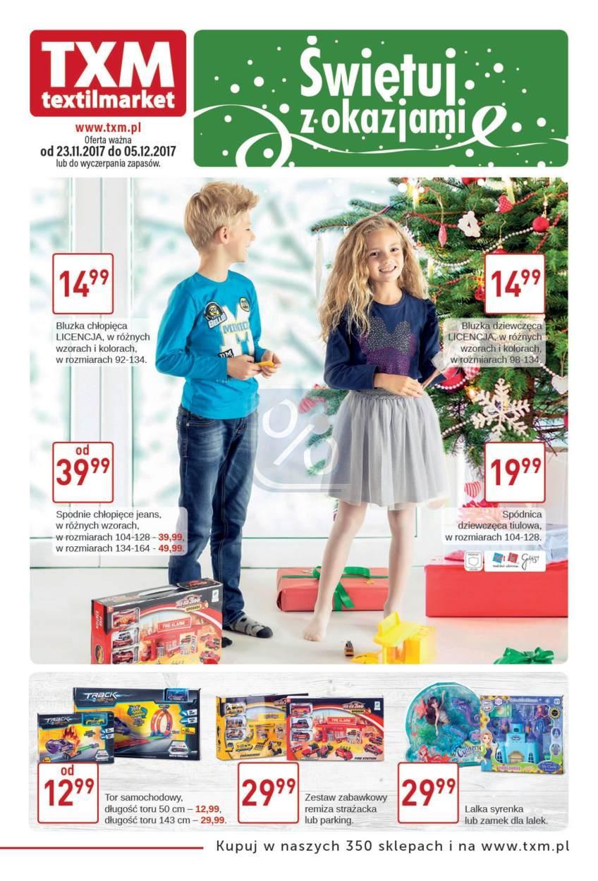 Gazetka promocyjna Textil Market do 05/12/2017 str.0