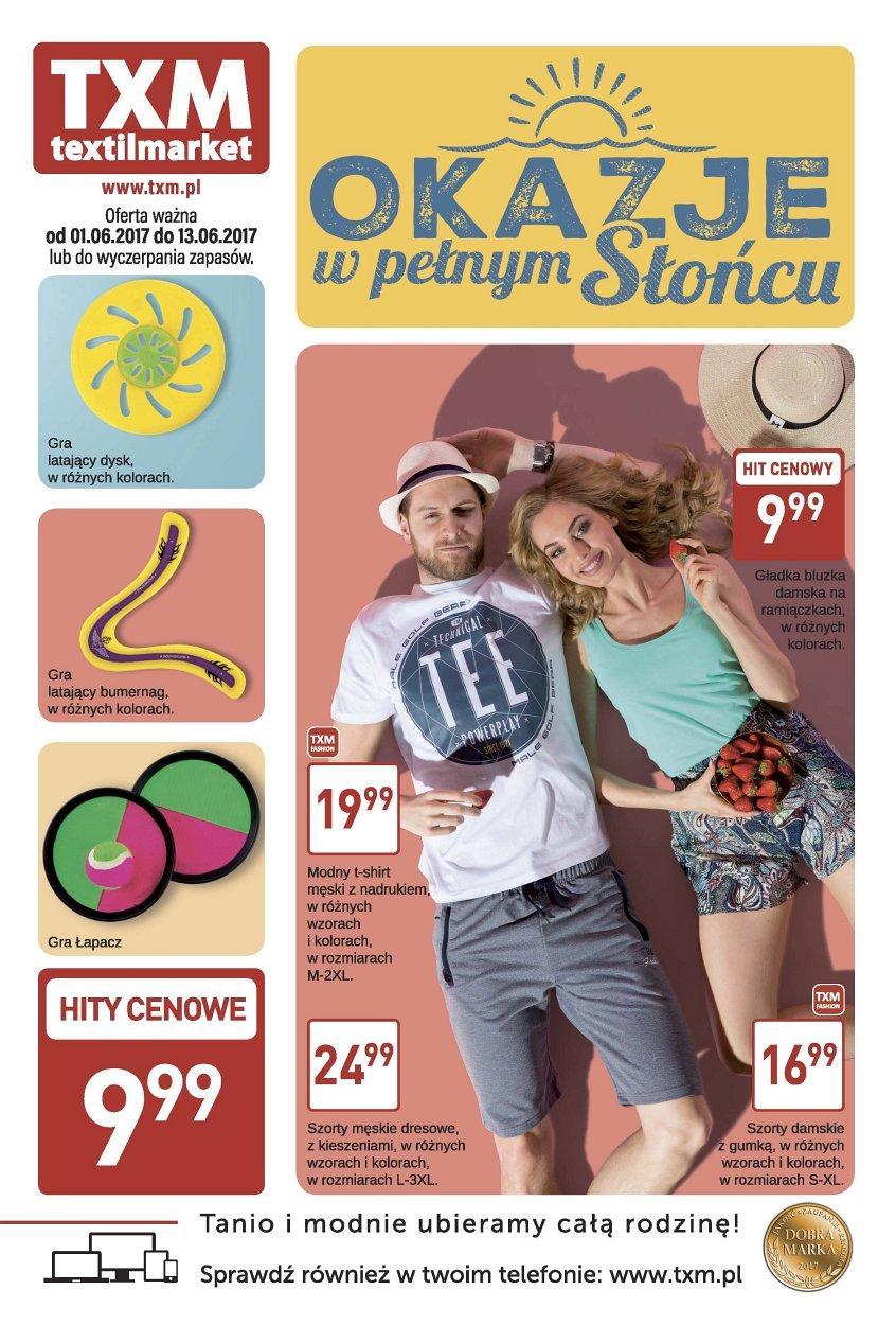 Gazetka promocyjna Textil Market do 13/06/2017 str.0