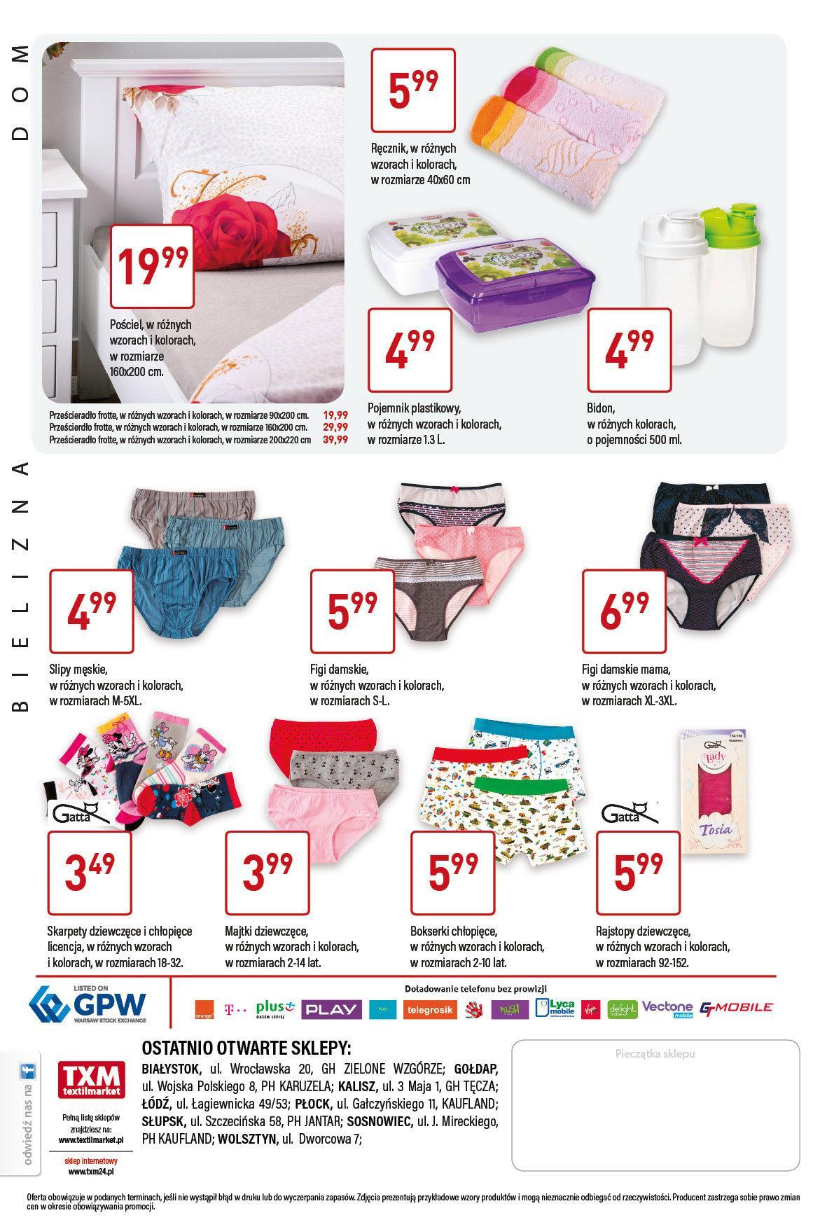 Gazetka promocyjna Textil Market do 21/03/2017 str.3