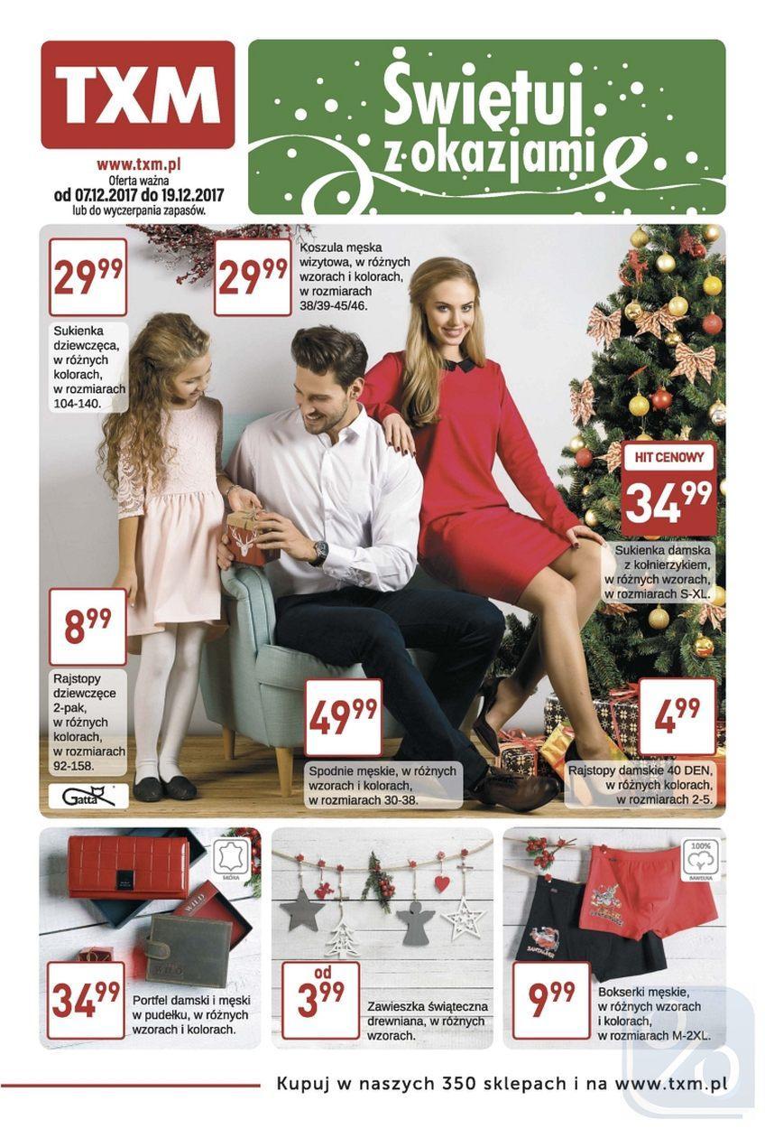 Gazetka promocyjna Textil Market do 19/12/2017 str.0