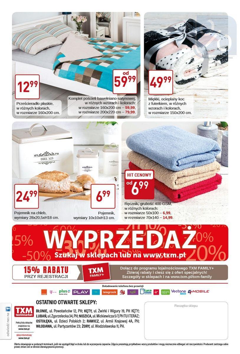 Gazetka promocyjna Textil Market do 24/01/2018 str.3