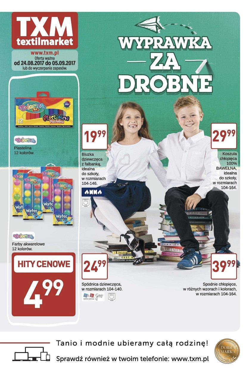 Gazetka promocyjna Textil Market do 05/09/2017 str.0
