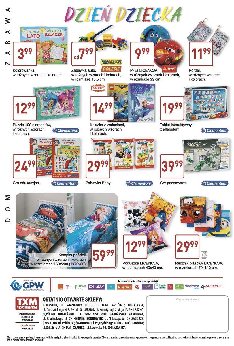 Gazetka promocyjna Textil Market do 30/05/2017 str.3