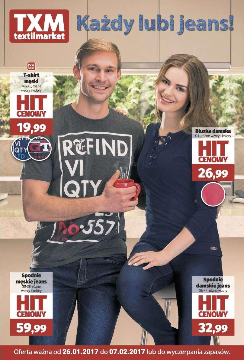 Gazetka promocyjna Textil Market do 07/02/2017 str.0