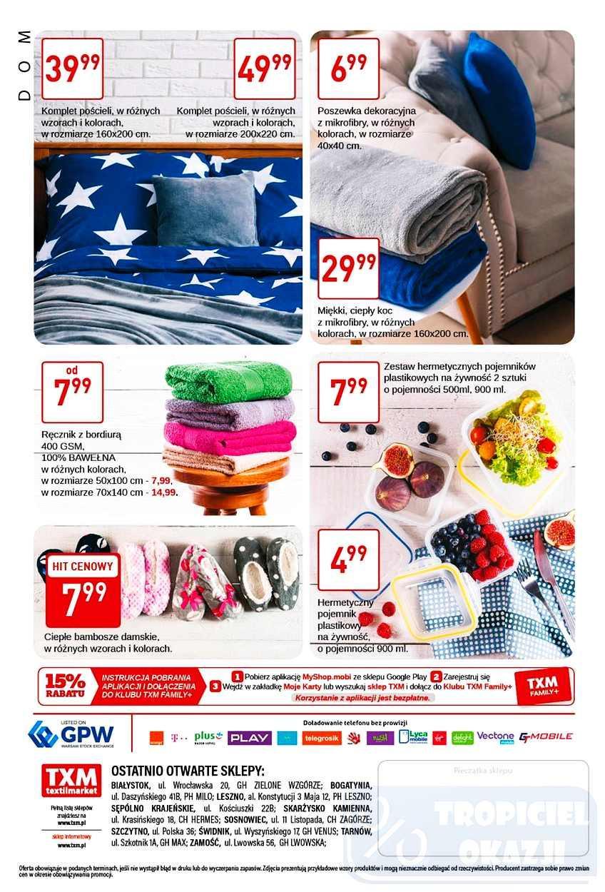 Gazetka promocyjna Textil Market do 31/10/2017 str.3
