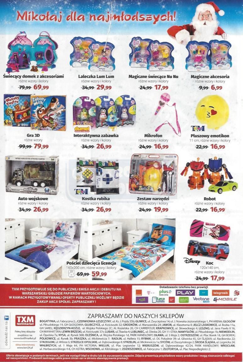 Gazetka promocyjna Textil Market do 06/12/2016 str.5