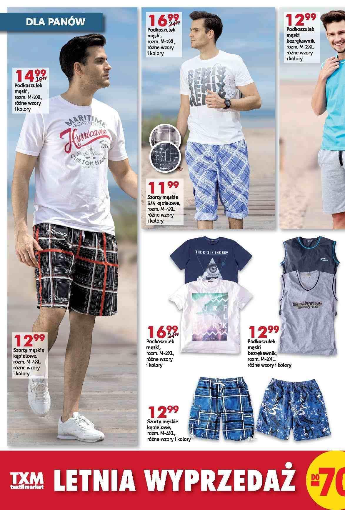 Gazetka promocyjna Textil Market do 26/07/2016 str.1