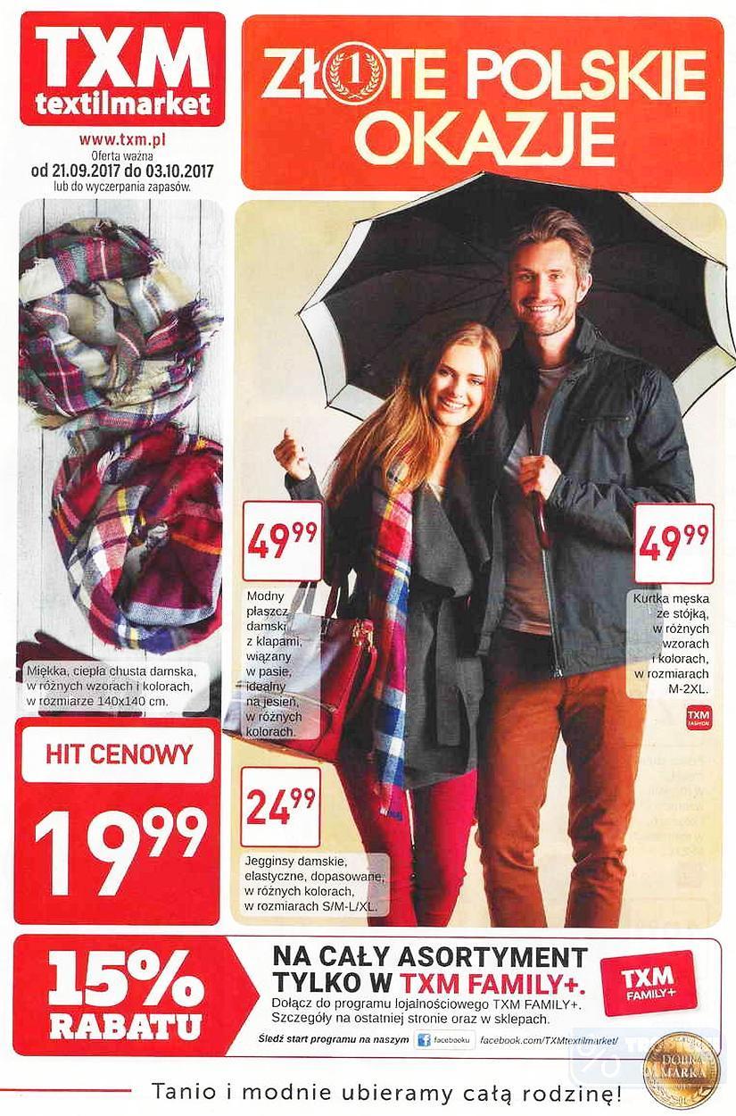 Gazetka promocyjna Textil Market do 03/10/2017 str.0