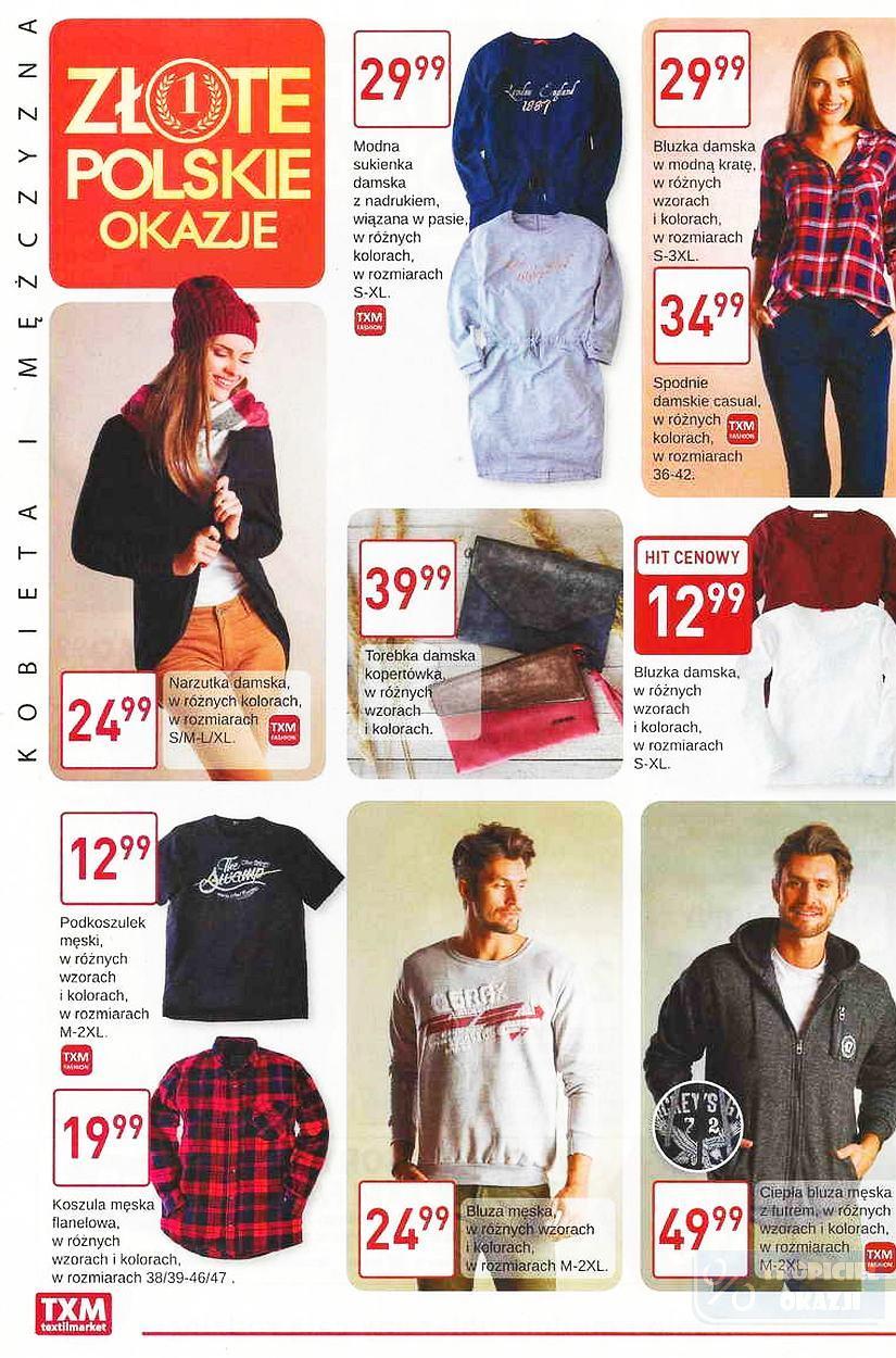 Gazetka promocyjna Textil Market do 03/10/2017 str.1