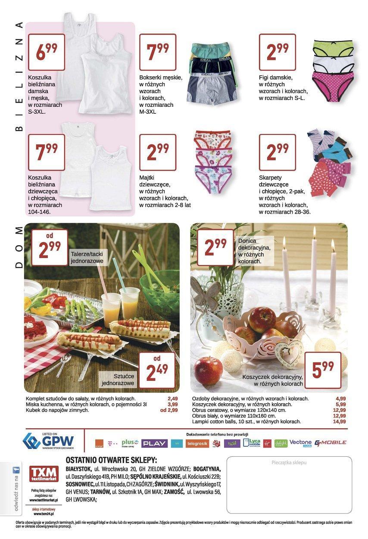 Gazetka promocyjna Textil Market do 09/05/2017 str.3