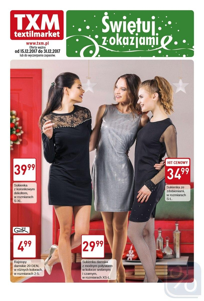 Gazetka promocyjna Textil Market do 31/12/2017 str.0