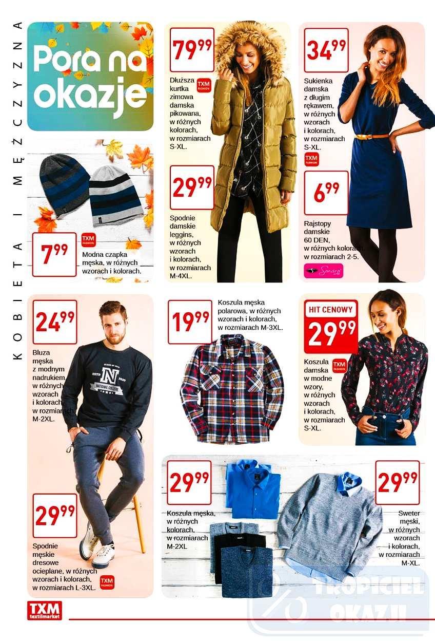Gazetka promocyjna Textil Market do 31/10/2017 str.1