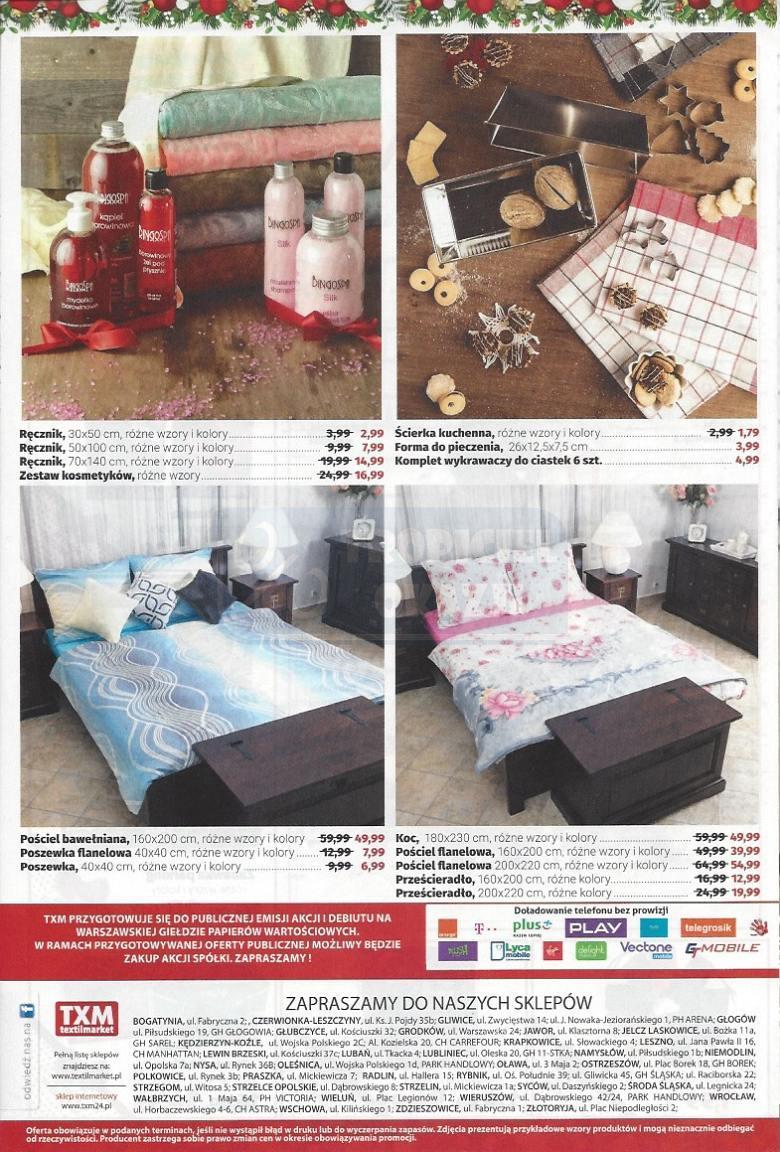 Gazetka promocyjna Textil Market do 24/12/2016 str.5