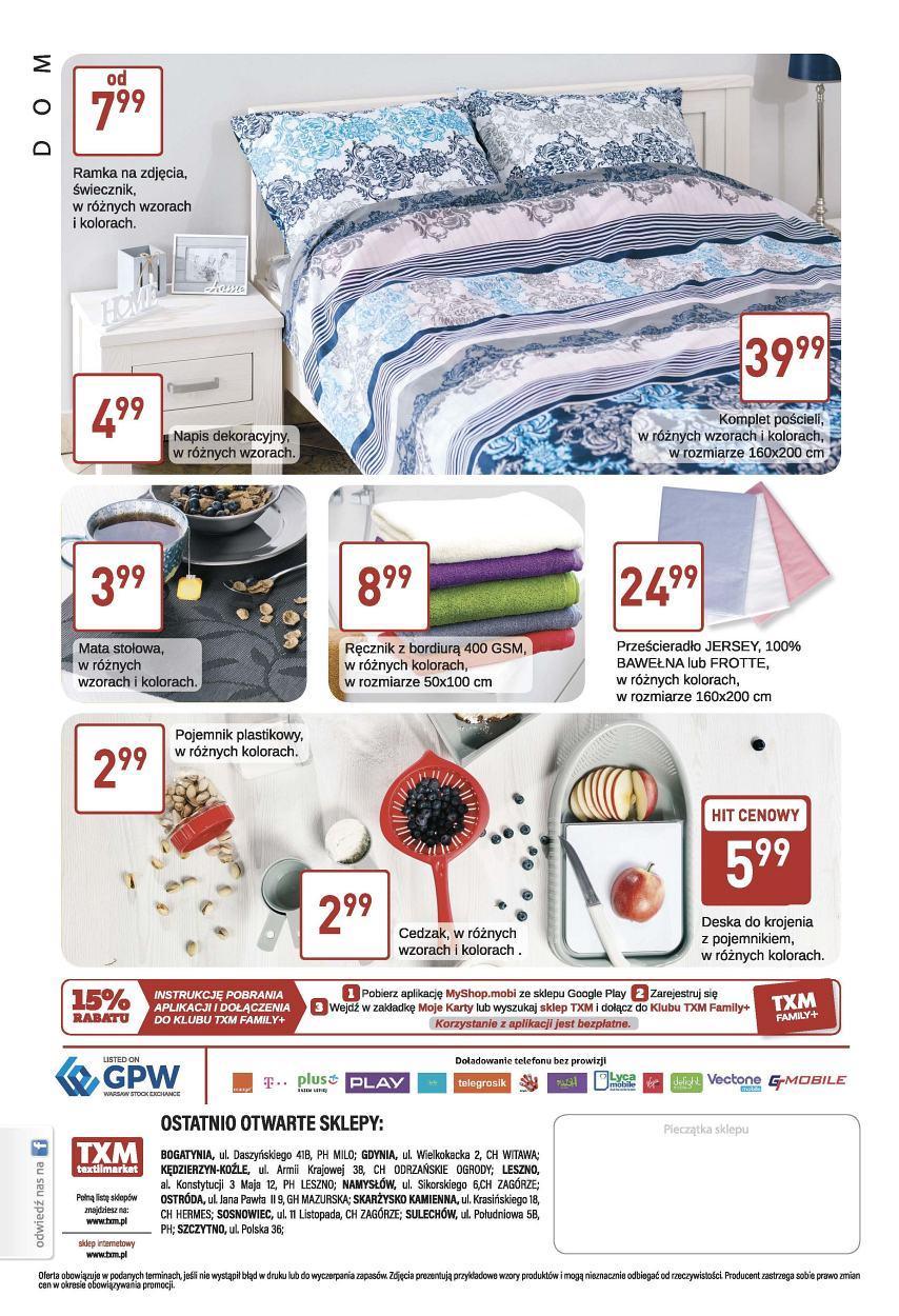 Gazetka promocyjna Textil Market do 19/09/2017 str.5