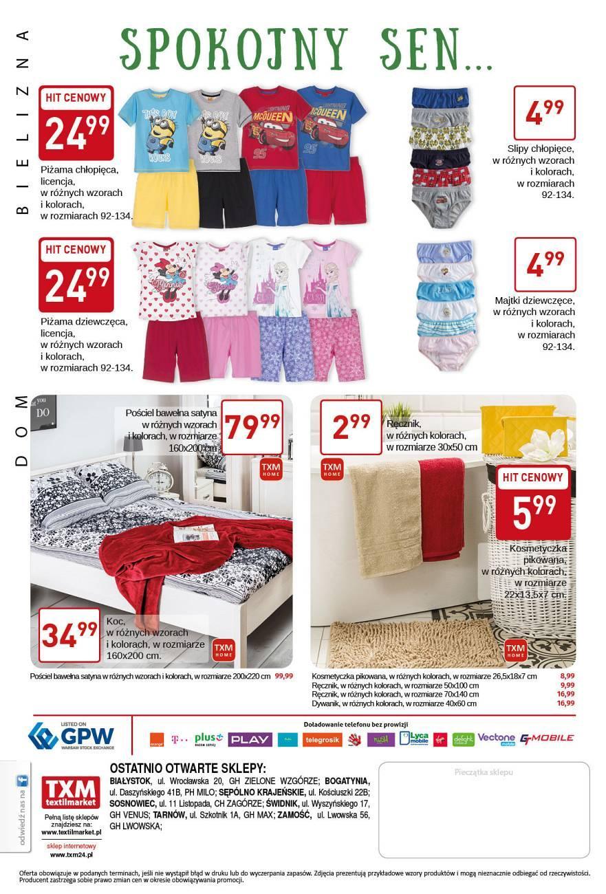 Gazetka promocyjna Textil Market do 19/04/2017 str.3