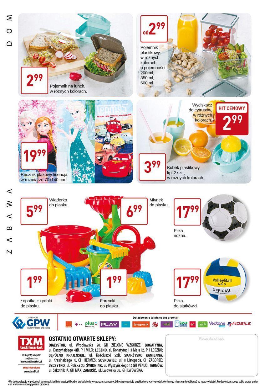Gazetka promocyjna Textil Market do 16/05/2017 str.3