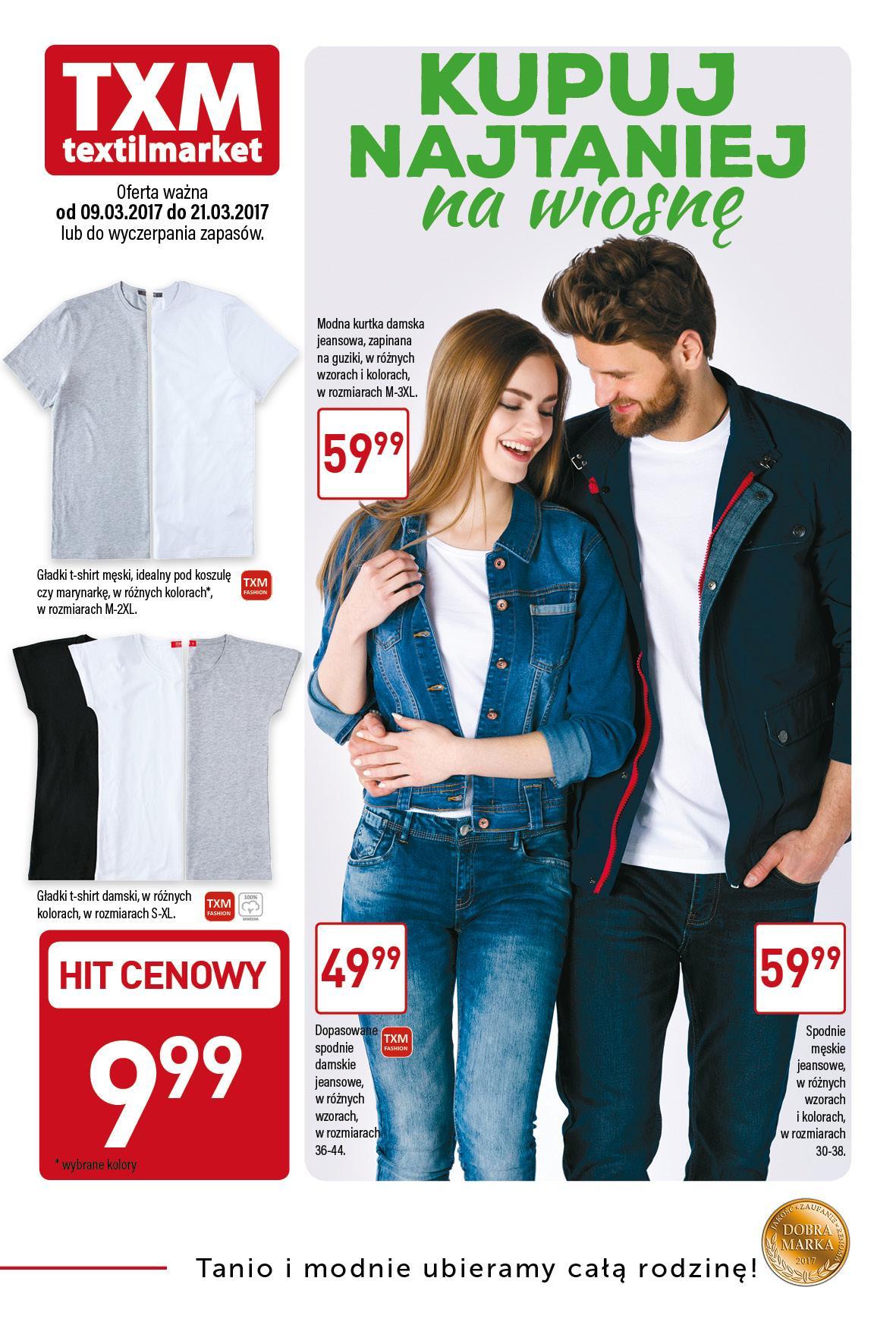 Gazetka promocyjna Textil Market do 21/03/2017 str.0