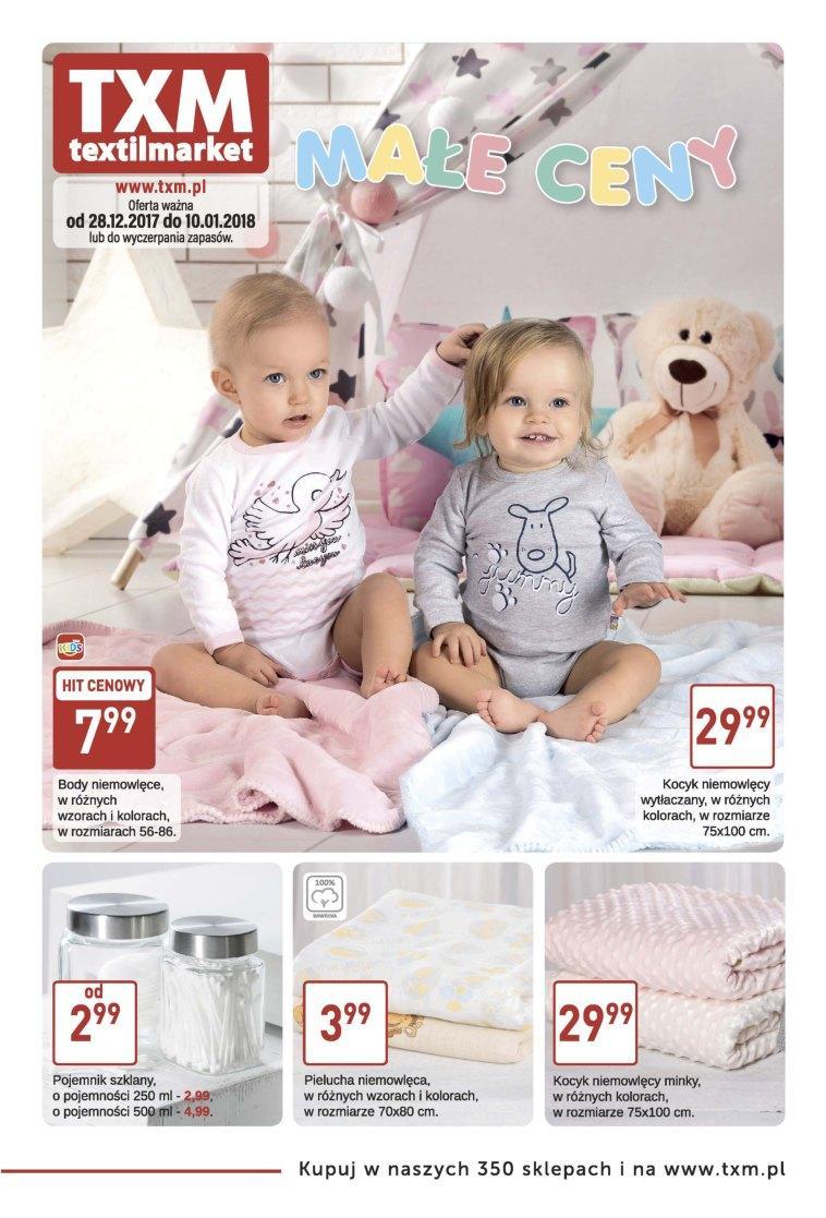 Gazetka promocyjna Textil Market do 10/01/2018 str.0