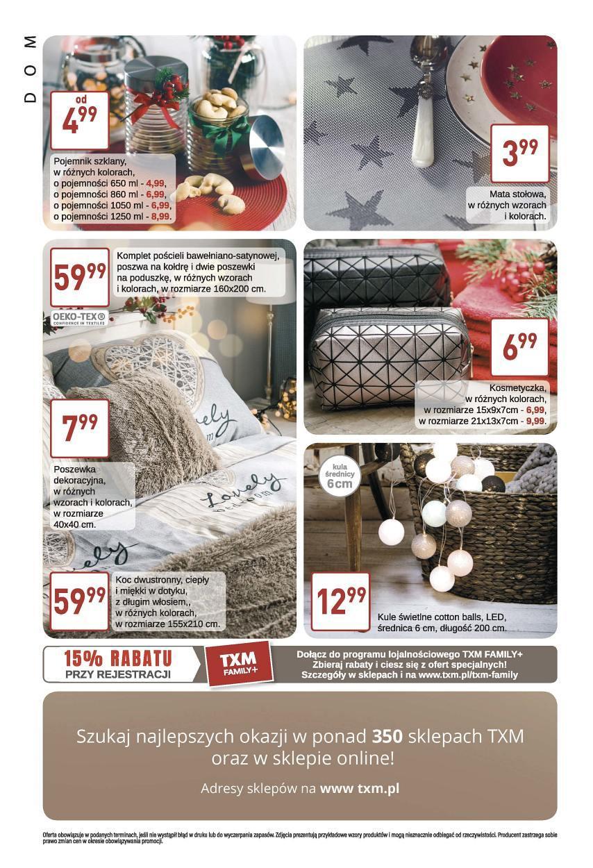 Gazetka promocyjna Textil Market do 21/11/2017 str.3