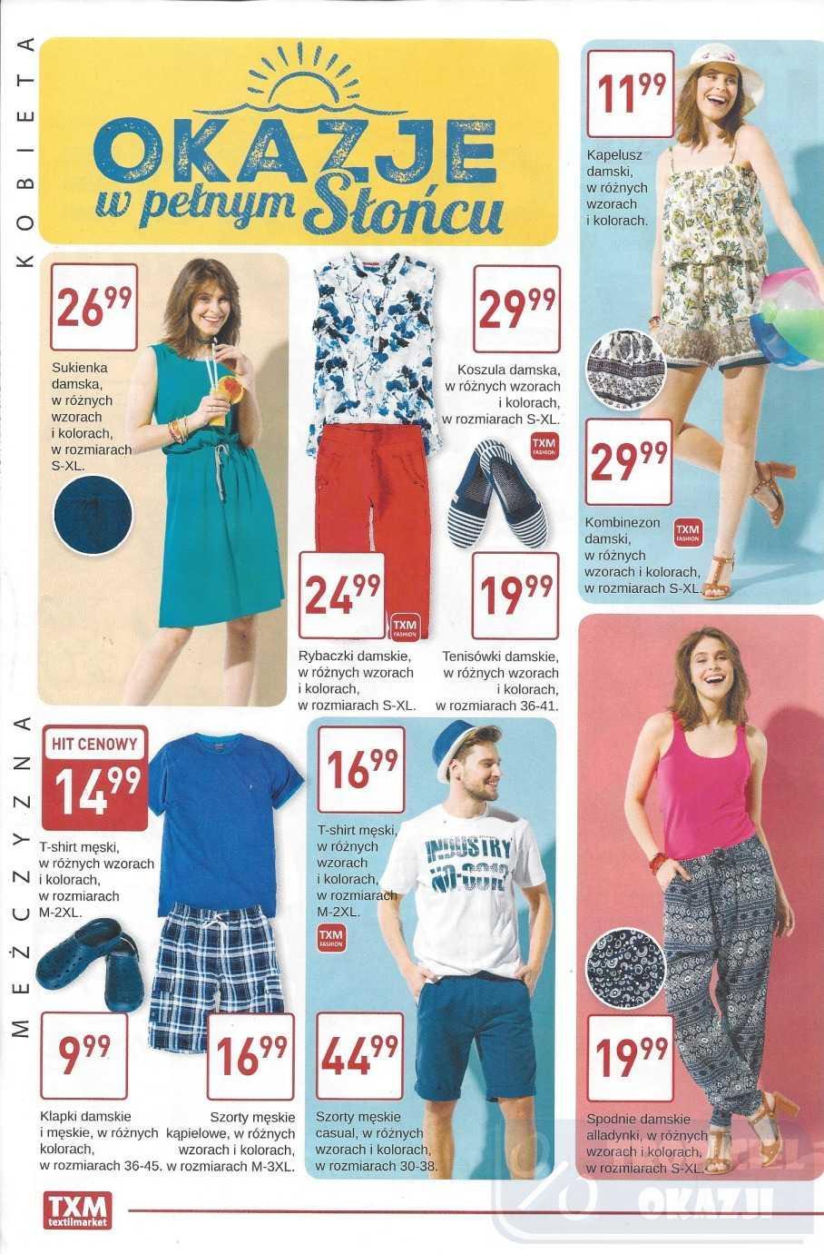 Gazetka promocyjna Textil Market do 27/06/2017 str.1