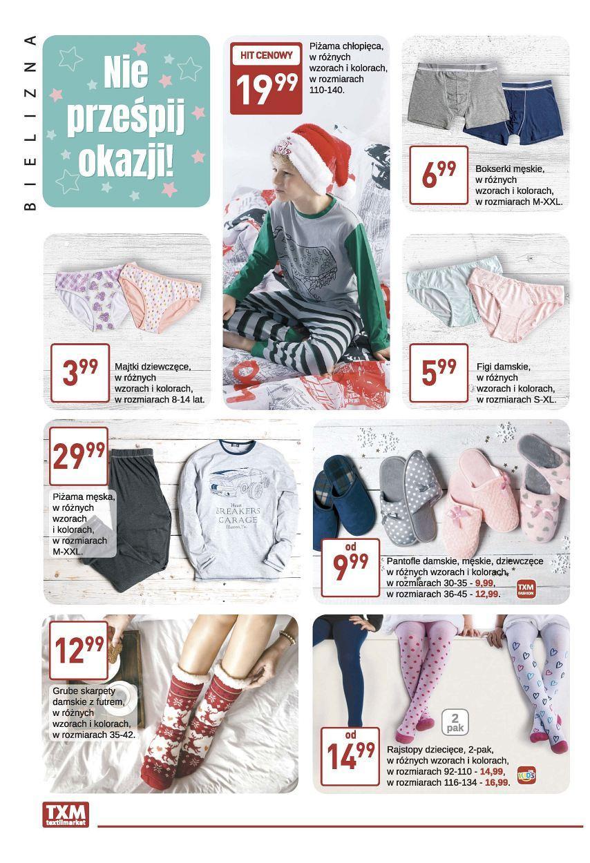 Gazetka promocyjna Textil Market do 21/11/2017 str.1
