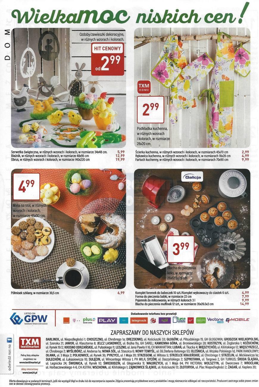 Gazetka promocyjna Textil Market do 11/04/2017 str.3