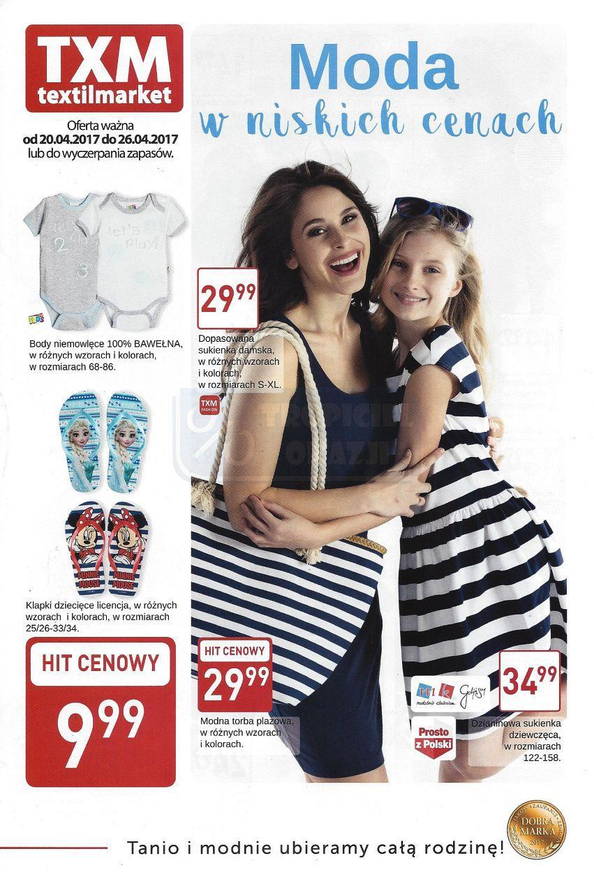 Gazetka promocyjna Textil Market do 26/04/2017 str.0