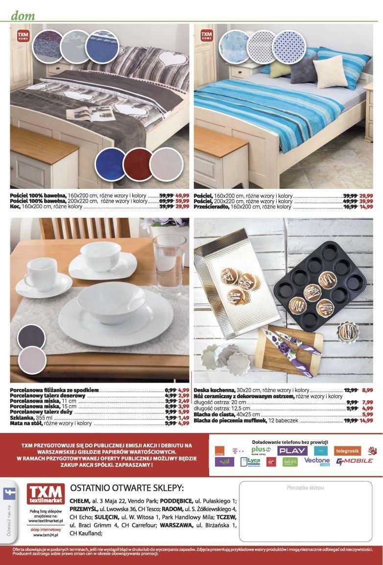 Gazetka promocyjna Textil Market do 22/11/2016 str.3