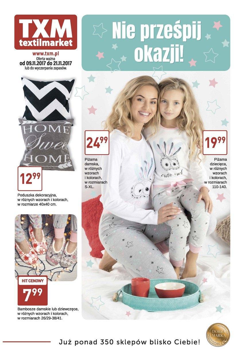 Gazetka promocyjna Textil Market do 21/11/2017 str.0