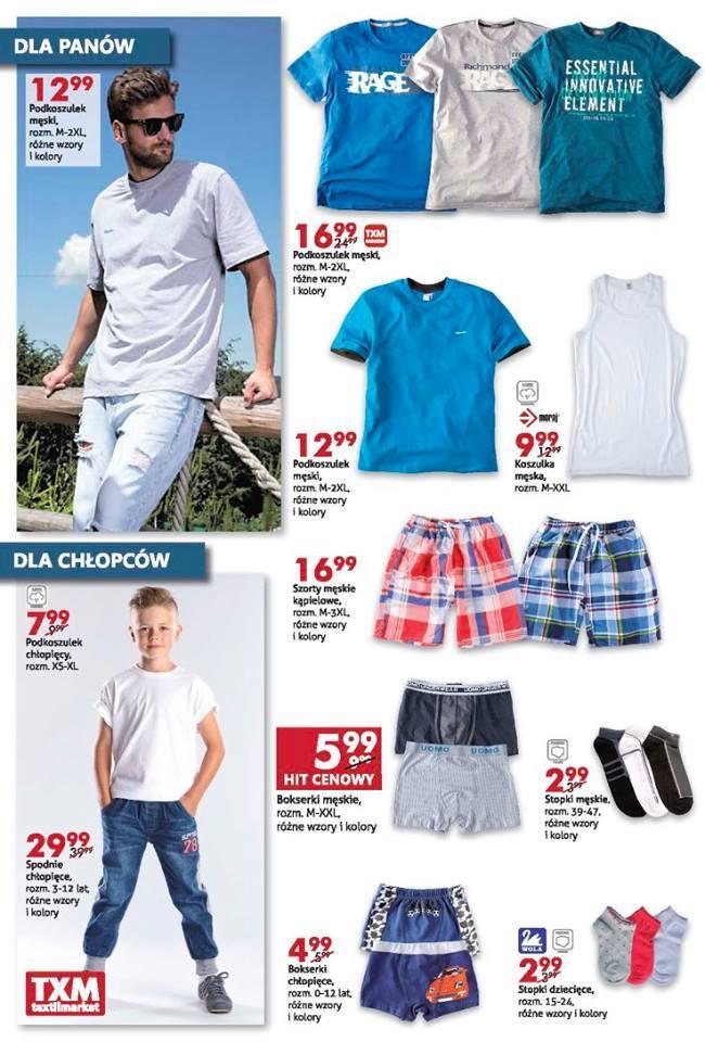 Gazetka promocyjna Textil Market do 02/08/2016 str.1