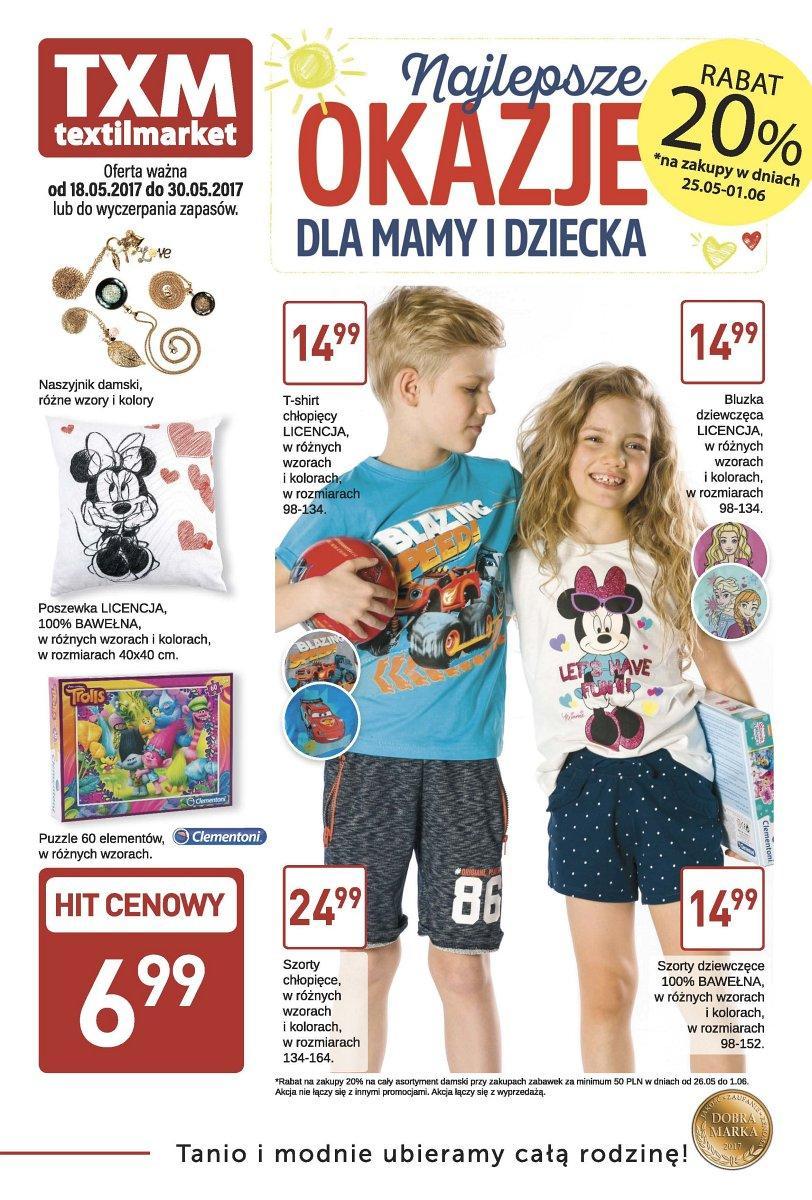 Gazetka promocyjna Textil Market do 30/05/2017 str.0