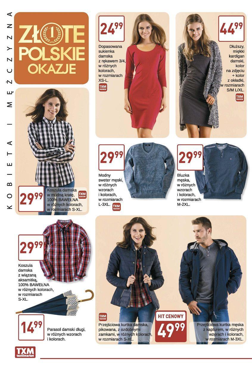 Gazetka promocyjna Textil Market do 19/09/2017 str.1