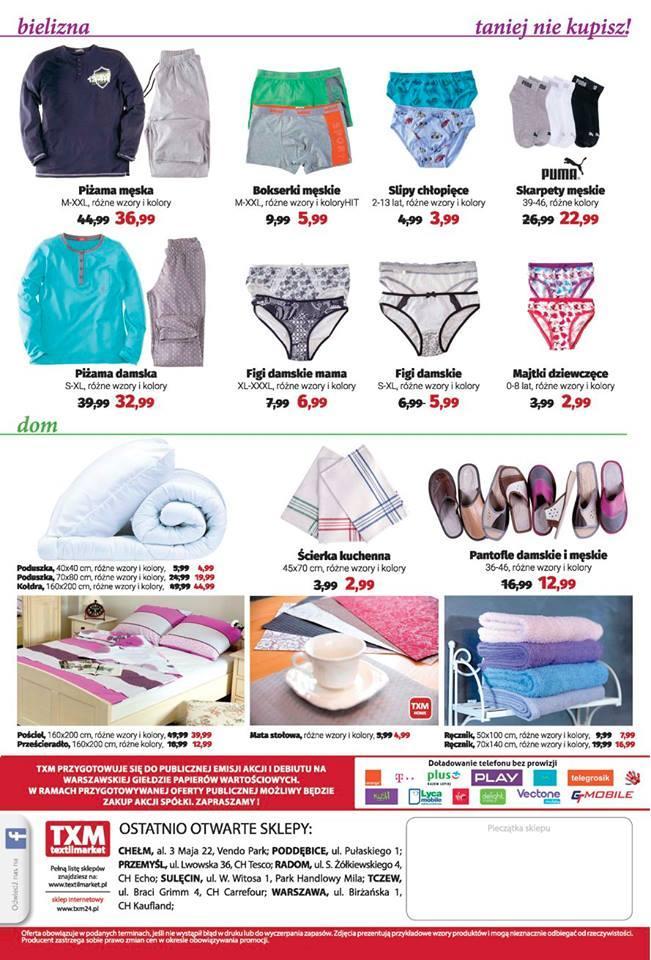 Gazetka promocyjna Textil Market do 25/10/2016 str.5