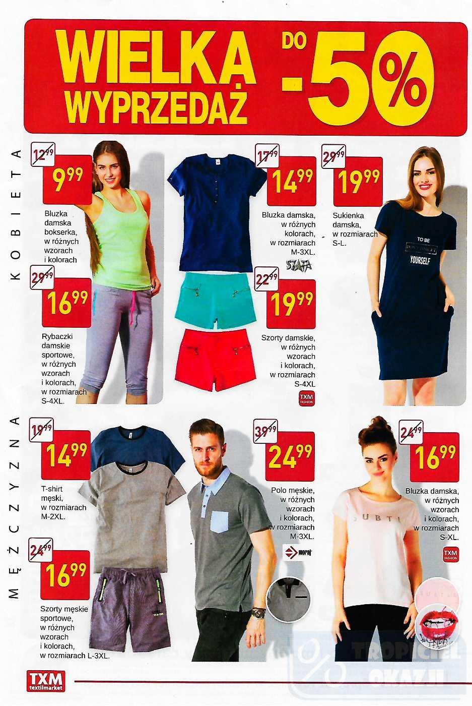 Gazetka promocyjna Textil Market do 11/07/2017 str.1