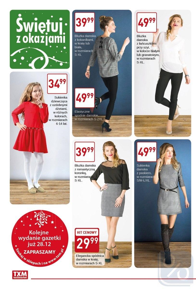 Gazetka promocyjna Textil Market do 31/12/2017 str.1