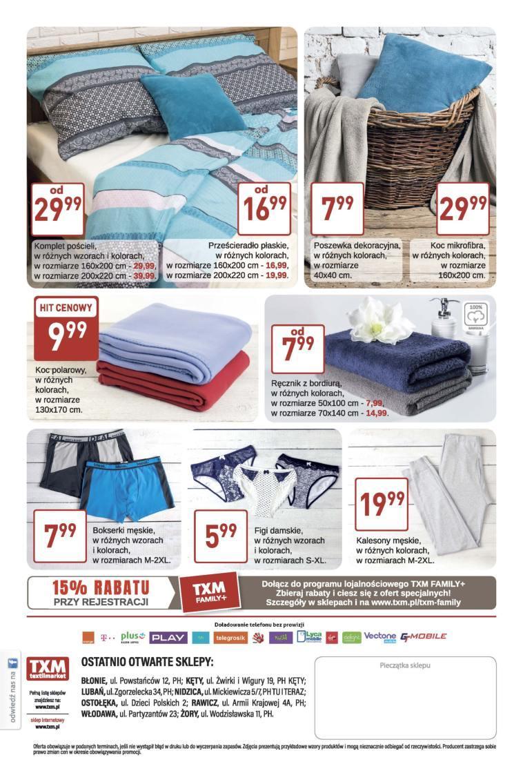 Gazetka promocyjna Textil Market do 10/01/2018 str.3