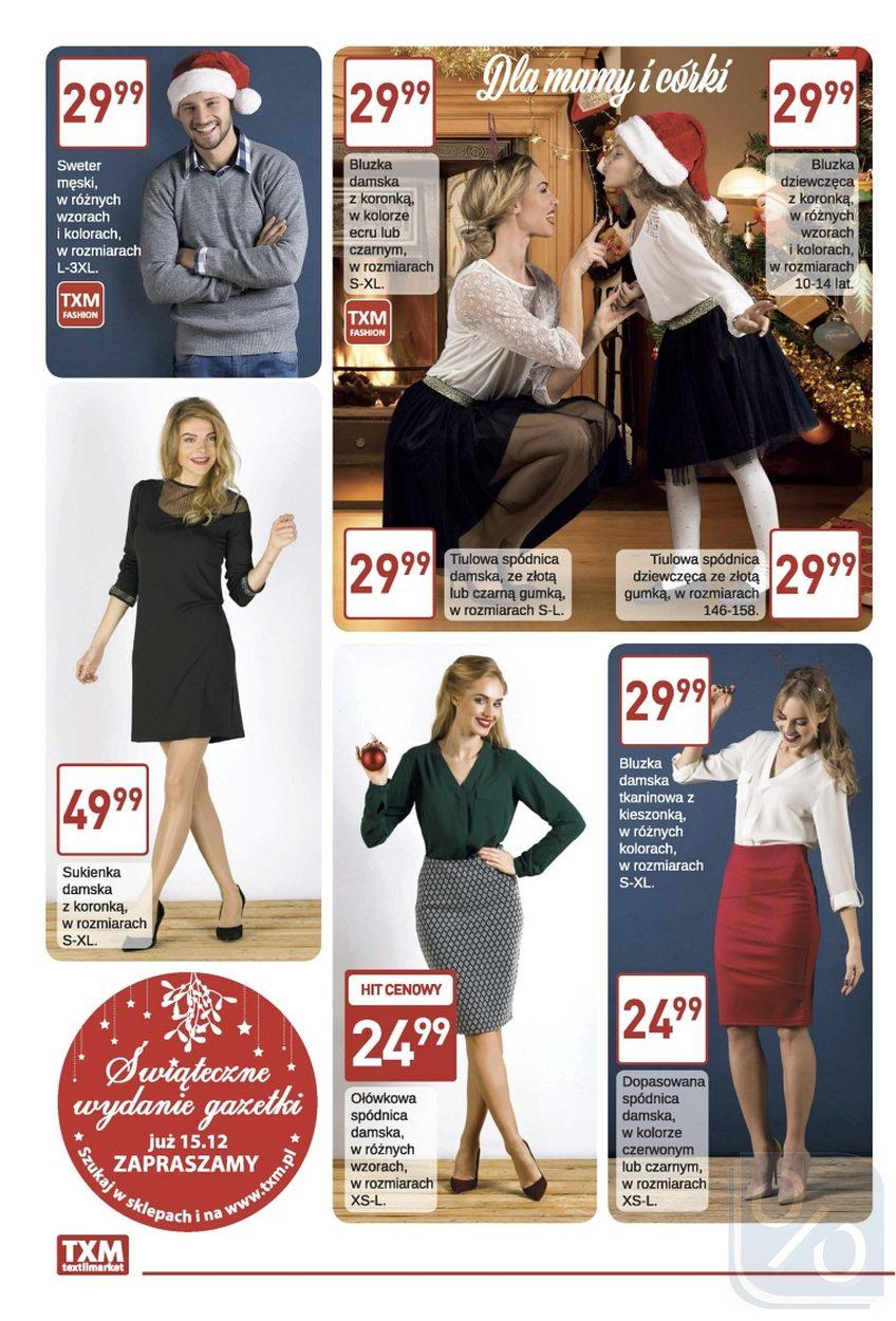 Gazetka promocyjna Textil Market do 19/12/2017 str.1