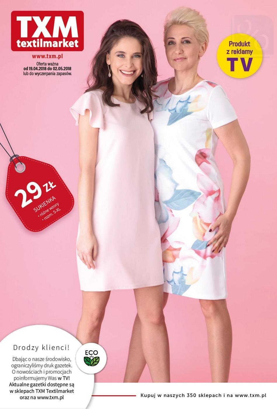Gazetka promocyjna Textil Market do 02/05/2018 str.0